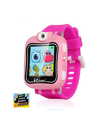Icore Durable Kids Smartwatch Electronic Child Smart Watch Video Games Children Digital Tech Watches Touch Screen Learning Timer Alarm Clock With